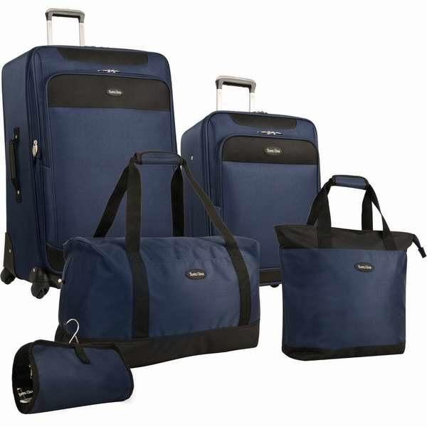 历史最低价!Amazon精选3款 Travel Gear 可扩展4万向轮拉杆行李箱5件套1.6折 59.99元限时特卖并包邮!三色可选!