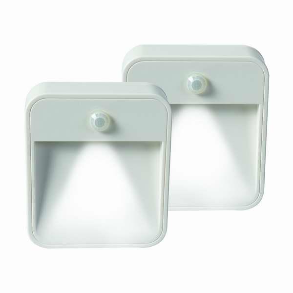 HealthSmart SafeStep 无线运动感应灯两件套2.8折 13.75元限时特卖!