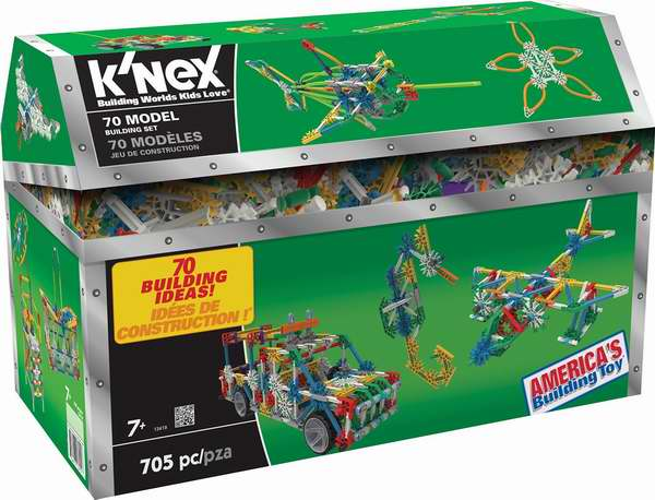 K'NEX 70 模型拼接玩具(705pcs) 29.97加元限时特卖!