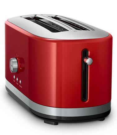 KITCHENAID 超长插槽4片式烤面包机5.1折  101.99元限时特卖并包邮!