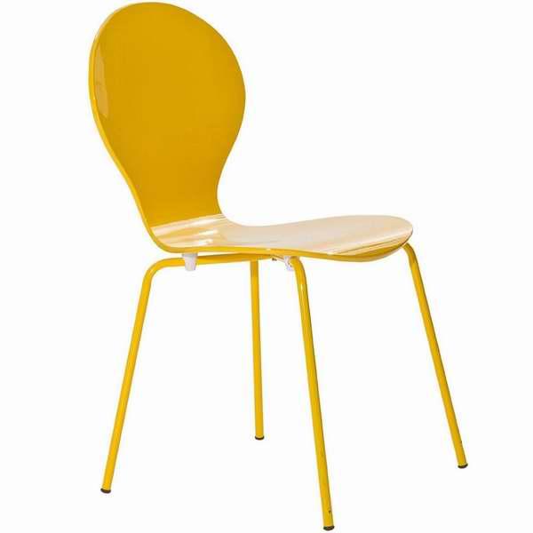 LexMod Insect 黄色单人椅1.2折 24.44元限时特卖!