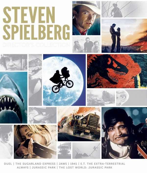 斯蒂芬·斯皮尔伯格电影DVD及蓝光合集2.8折 28.99-44.99元限时特卖并包邮!仅限今日!