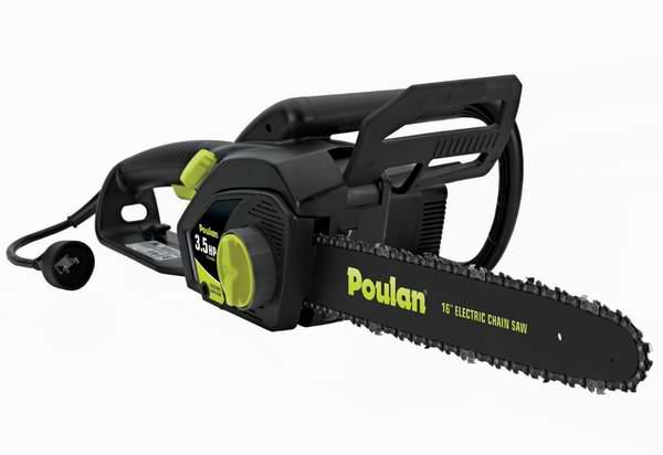 Poulan 16寸电锯6.4折 83.99元限时特卖!