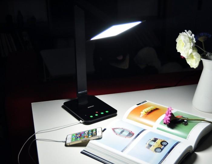 Saicoo 多功能护眼LED台灯59.69元特卖,原价269.99元,包邮,
