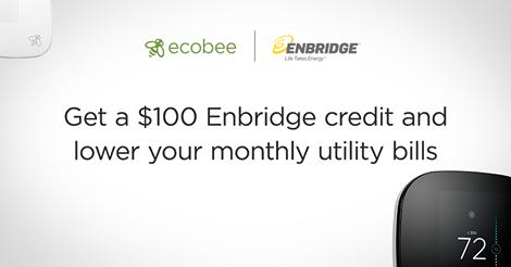 安省Enbridge天然气公司用户安装Nest智能温控器,送100元气费!