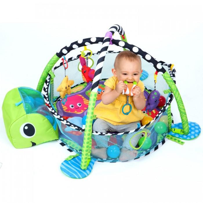 Infantino 乌龟游戏垫健身毯+球池婴儿玩具 59.99元,原价 75.13元,包邮