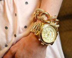 Michael Kors Parker MK5354 时尚女士腕表 185元,原价275元,包邮