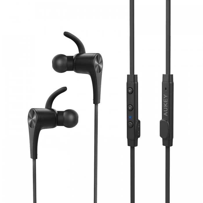 AUKEY便携式磁性蓝牙V4.1无线耳机 26.99元,原价 32.99元,包邮