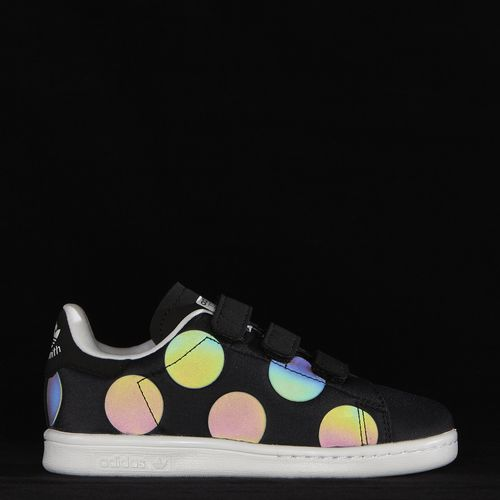 Adidas Kids Stan Smith Xeno 儿童中性子3M反光板鞋 59.5元特卖,原价 85元,包邮