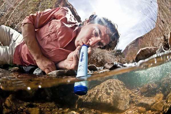 户外饮水神器!LifeStraw 野外生存净水器7.8折 21.74元限时特卖!