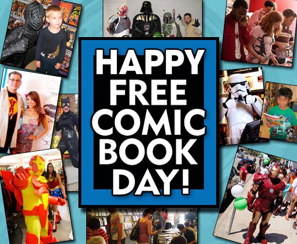 免费漫画日又来了!下周六,全国漫画店免费送漫画书!