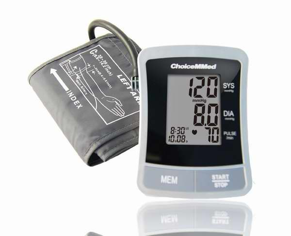 ChoiceMMed 全自动上臂式电子血压计3.6折 32.29元限量特卖并包邮!