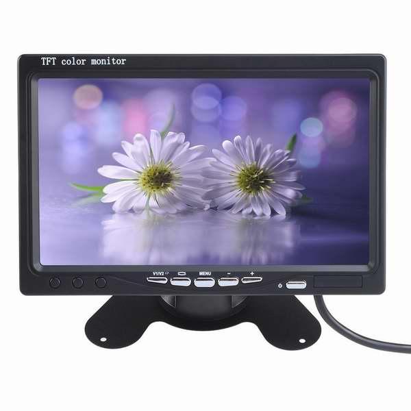 历史新低!AGPtek 7英寸车载无线夜视后视镜监视器4.6折 68.79元限量特卖并包邮!