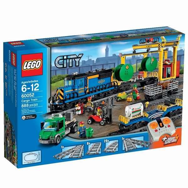 LEGO 乐高 60052 火车系列城市货运列车积木套装7.2折 164.99加元包邮!