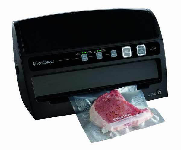 延长5倍保鲜期!FoodSaver V3230 真空密封食物保鲜机5折 90.54加元限量特卖并包邮!