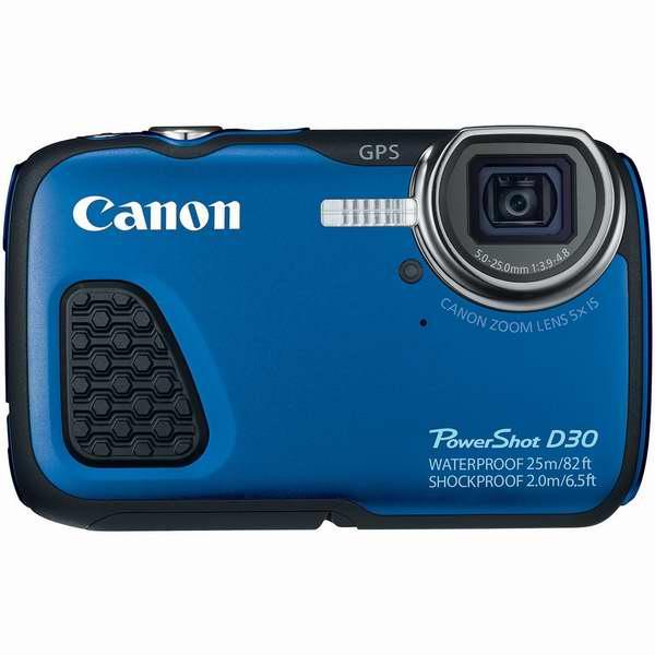 深潜25米还带GPS!Canon 佳能 PowerShot D30 三防数码相机5.8折 229.99元限时特卖并包邮!