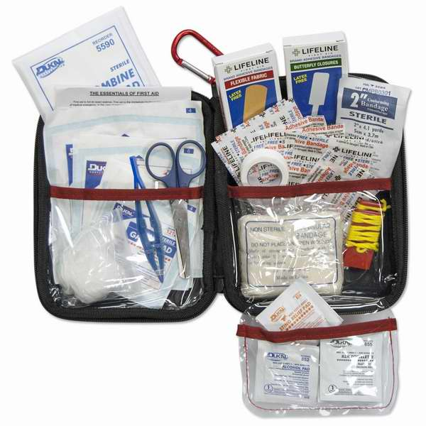 Lifeline 大号便携式85件套医用急救包 19.85加元!