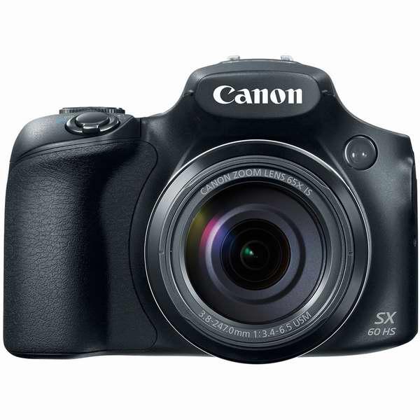可拍摄月球表面的超强变焦DC!Canon 佳能 PowerShot SX60 HS 65倍光变数码相机6.5折 429.99元限时特卖并包邮!