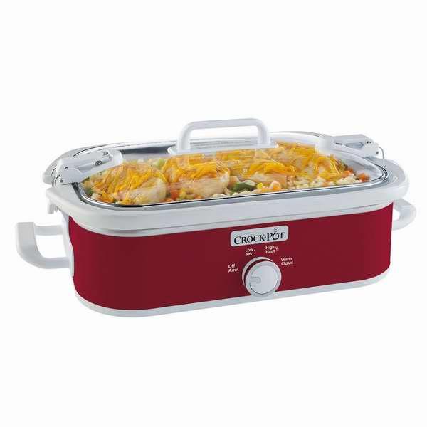 销量冠军!Crock-Pot Casserole Crock 3.5夸脱慢炖锅5.7折 45.98加元包邮!