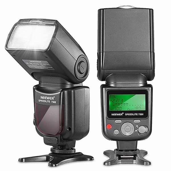 历史最低价!Neewer VK750 II i-TTL 带显示器闪光灯7.8折 68.65元限时特卖并包邮!