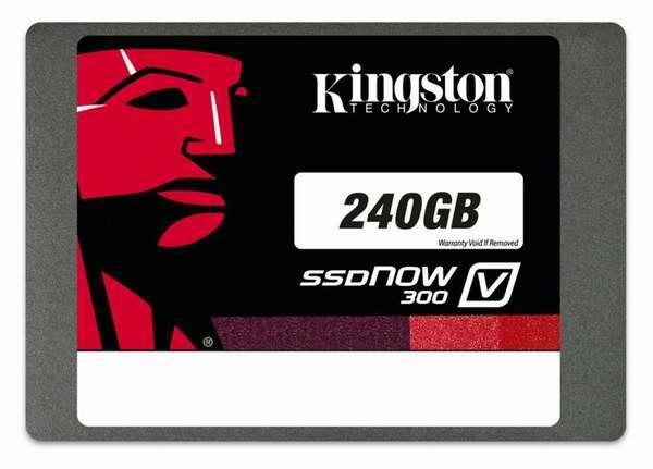 历史最低价!Kingston 金士顿 SSDNow V300 系列 7毫米超薄 SATA 3 2.5英寸240GB固态硬盘79.99元限时特卖并包邮!配备9.5毫米适配器!