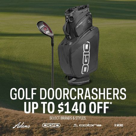 Sport Chek 精选多款高尔夫球具、GPS运动腕表等4.8折起限时特卖!新用户额外9折!