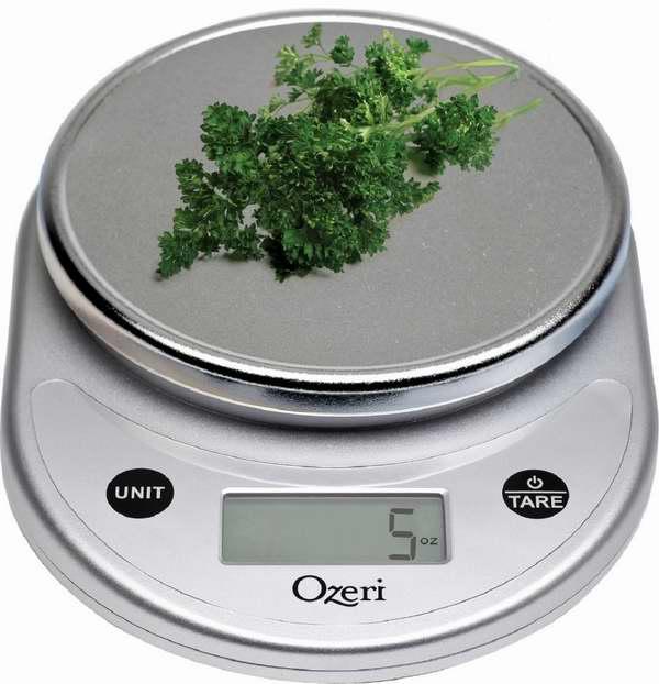 Ozeri 多功能数字厨房秤3.5折 13.95元限量特卖!