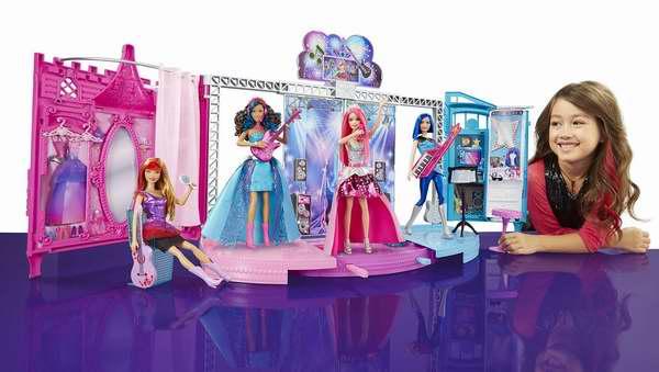 Amazon精选15款 Mattel Barbie 芭比娃娃玩偶及玩具套装2.9折起限时特卖!