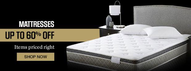 Sears精选148款床垫套装4折起限时特卖,额外再打9折!