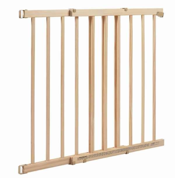 历史最低价!Evenflo Top of Stair Plus 木质婴幼儿楼梯安全防护门6.7折 39.99元限时特卖并包邮!