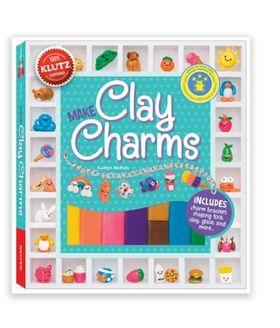 纯手工创意,Make Clay Charms 粘土手工书 15.74元特卖,原价 26.99元