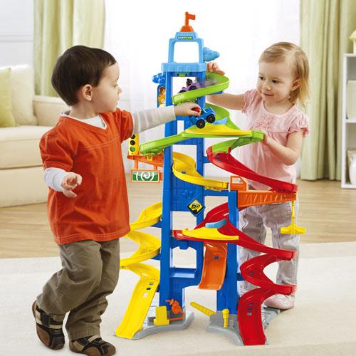Fisher-Price 费雪城市高架路赛车玩具 33.05元特卖,原价49.99元,包邮