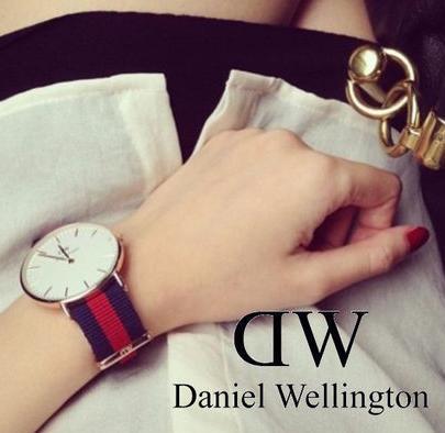 Daniel Wellington 丹尼尔·惠灵顿 0501DW 女士时尚腕表119元特卖,原价205元,包邮