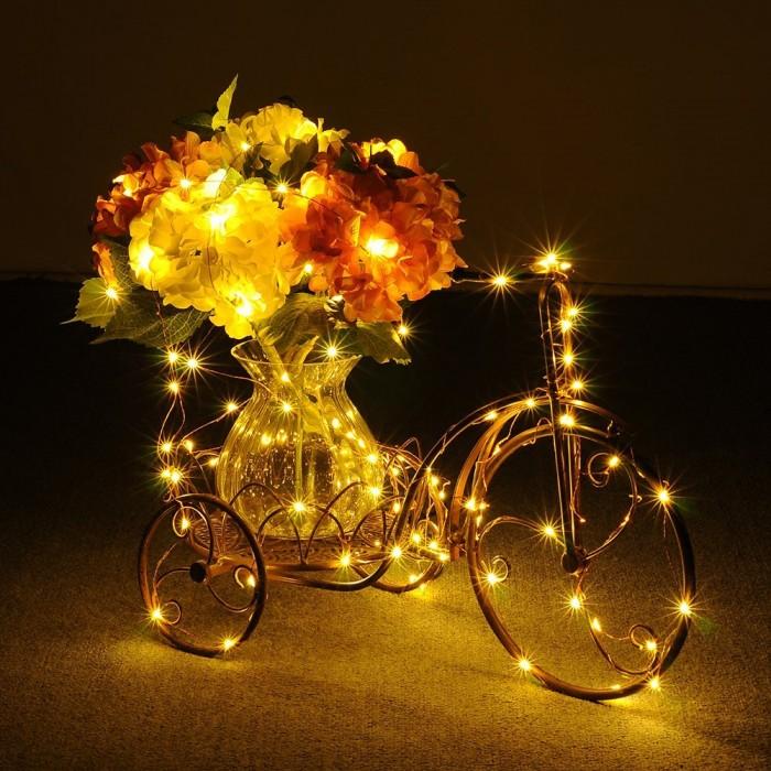 营造浪漫的气氛,就靠它!Habor 可调光铜线 LED灯 21.99元特卖,原价 26.99元,包邮