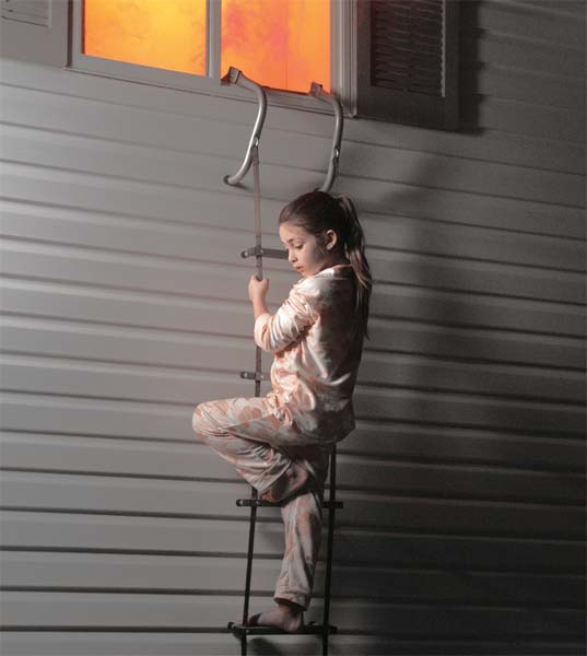 First Alert 便携式24英尺火灾逃生梯 94.99加元(121.35加元),另一款14英寸梯子为64加元,walmart 14英尺梯子价为82.42加元