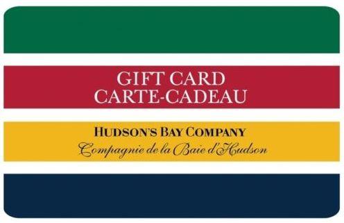 Ebay.ca网店促销,Hudson's Bay 礼品卡满100元立减20元!