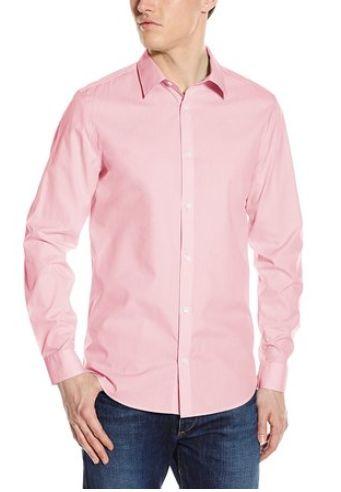 Calvin Klein 男士纯棉衬衣 37.38元起特卖!五种颜色可选