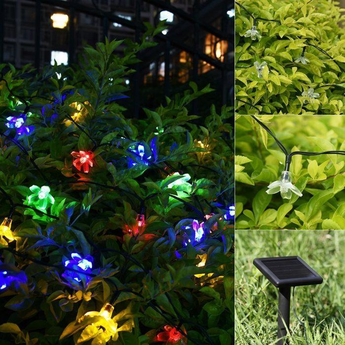 Litom 太阳能户外防水多色LED装饰灯 19.89元限量特卖,原价 24.99元,