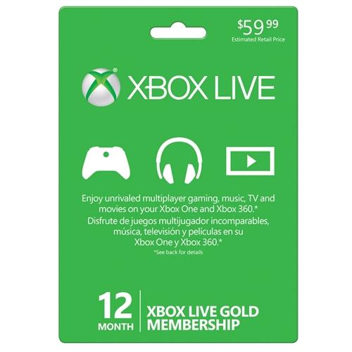 12个月Xbox Live金会员年卡7.7折 45.99元限时特卖!