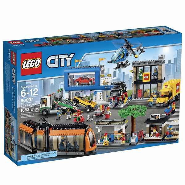 LEGO 乐高 60097 城市系列 城市广场积木套装6.9折 172.47加元包邮!