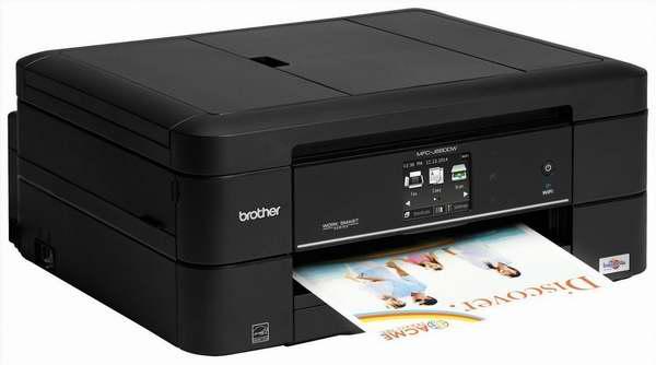 历史最低价!Brother MFC-J680DW 4合1双面无线彩色喷墨打印机5折 79.99加元限时特卖并包邮!