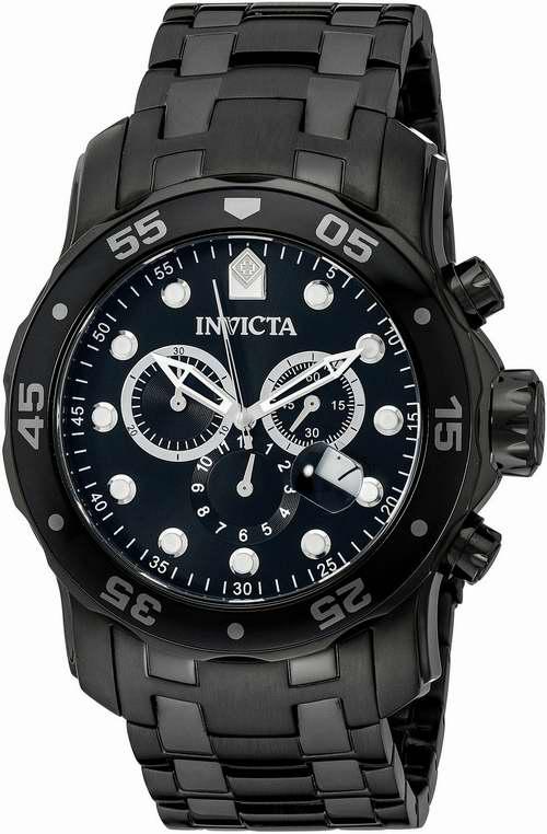 Invicta 0076 男士潜水系列瑞士计时型石英腕表1.2折 119.95元限量特卖并包邮!