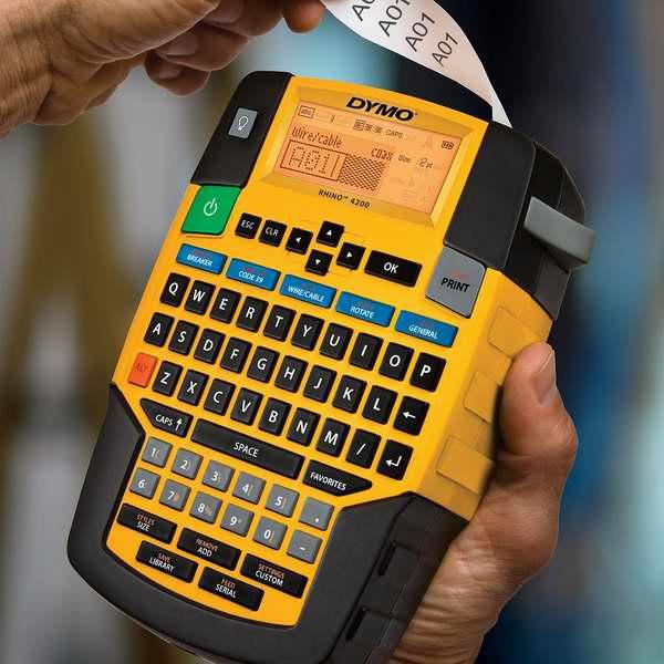 接近历史最低价!Dymo 达美 1801611 Rhino 4200 犀牛系列 标签打印机4.8折 49.99元限时特卖并包邮!