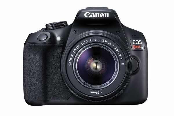Canon 佳能 EOS Rebel T6 单反相机 + EF-S 18-55mm IS II 镜头套装 459.48加元限时特卖并包邮!