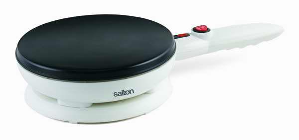煎饼神器!Salton 不粘底可丽饼机6.7折 29.98元限时特卖并包邮!