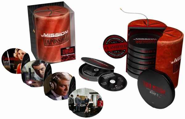 艾美奖经典美剧《反恐24小时》DVD全集5折74.99元限时特卖并包邮!《Mission: Impossible 碟中谍》全集2.8折104.99元限时特卖并包邮!