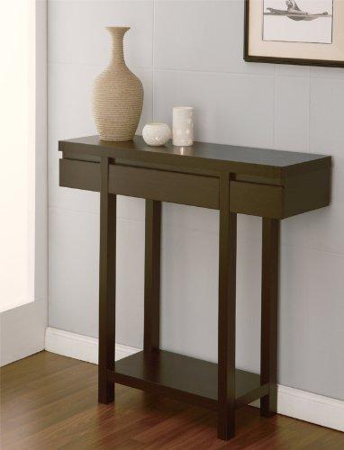 Furniture of America Enitial Lab 咖啡色带抽屉玄关桌2.9折 65.61元限时特卖并包邮!