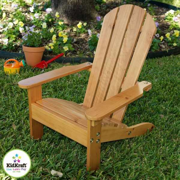 KidKraft 83 Adirondack 实木儿童休闲椅/沙滩躺椅4折 35.99元限时特卖并包邮!