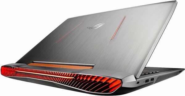 历史新低!ASUS 华硕 Republic of Gamers 玩家国度 17.3英寸顶级游戏笔记本电脑(i7-6700HQ/32GB/1TB+128GB SSD/1920×1080/NVIDIA GTX980M显卡)6折 2020.8元限量特卖并包邮!