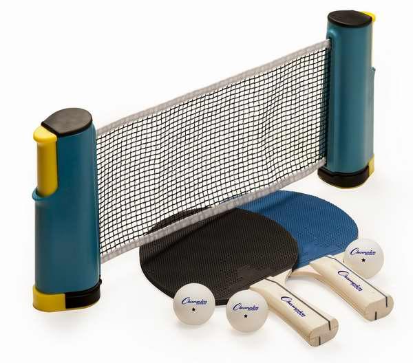 Champion Sports Anywhere 乒乓球拍+球网+球套装3.7折 24.01加元限时特卖!